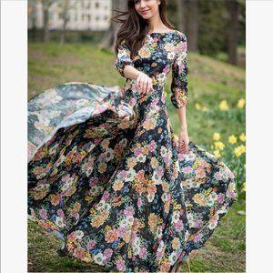 Yumi Kim Woodstock Floral Maxi Dress